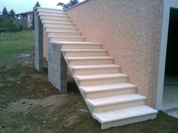 Escalier préfabriqué exterieur